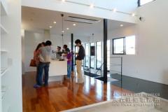 オープンハウス:「2階リビングの家」一日目3