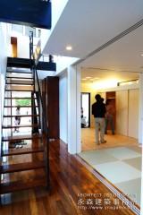 オープンハウス:「2階リビングの家」二日目5
