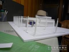 【2010新春企画】建築模型制作Part2 組み立て編3