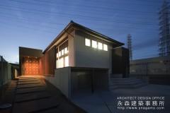 平屋で和モダンの家が完成しました。2