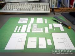 建築模型の製作