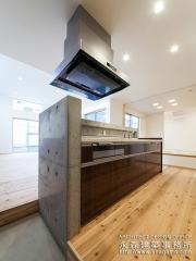 コンクリートキッチン2