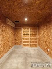 木片の車庫