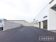 コンクリートの塀2