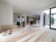 オープンハウス:『中庭をもつ平屋の家』2