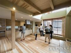 オープンハウス:『丘陵地に建つ和風住宅』一日目2