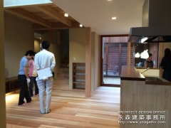 オープンハウス:『丘陵地に建つ和風住宅』二日目1