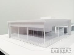 店舗設計のイメージ建築模型1