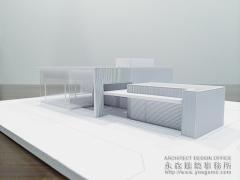 店舗設計のイメージ建築模型2