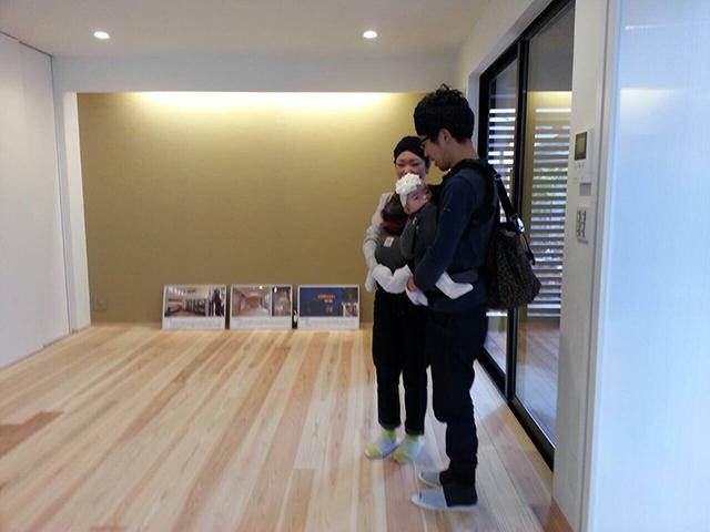 「親世帯の隣に建つ子世帯住宅」オープンハウス1