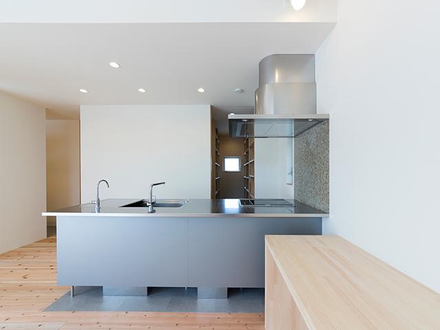 シンプルですっきりとしたキッチン!