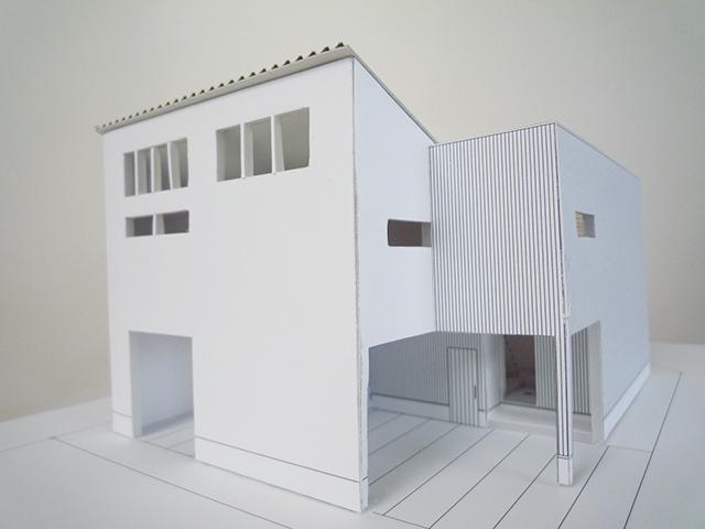 建築模型完成4
