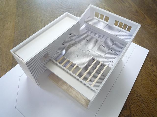 建築模型完成7