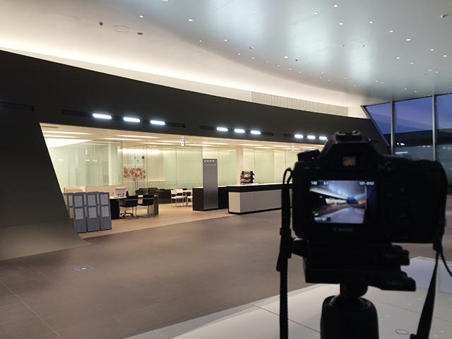 Audi神戸西 内観の竣工写真撮影!