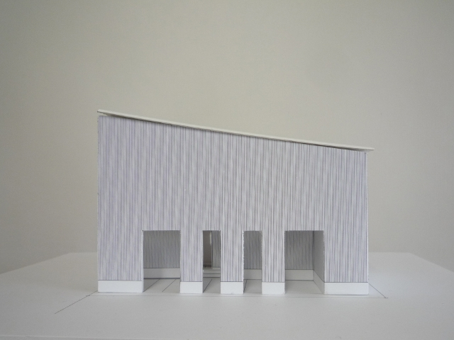 建築模型〜完成!2