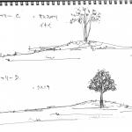 シンボルツリーのC案とD案