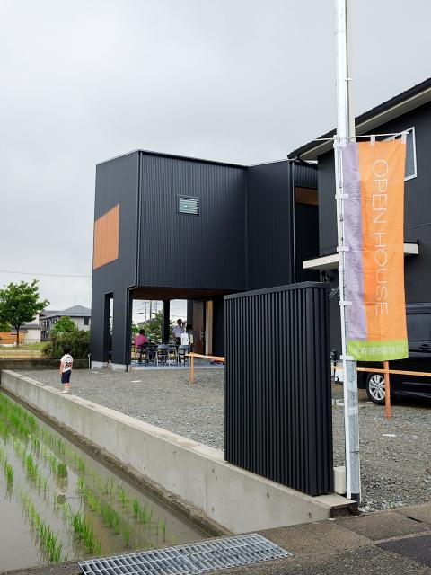 「西の公園を眺める家」オープンハウス1