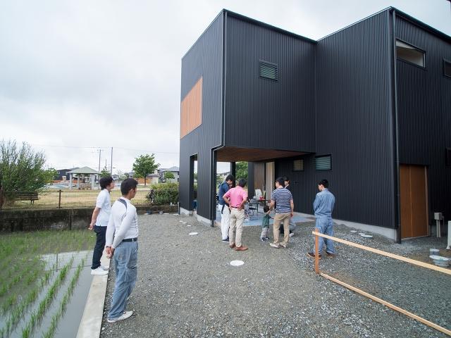 「西の公園を眺める家」オープンハウス2