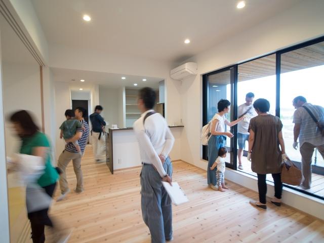 「西の公園を眺める家」オープンハウス4