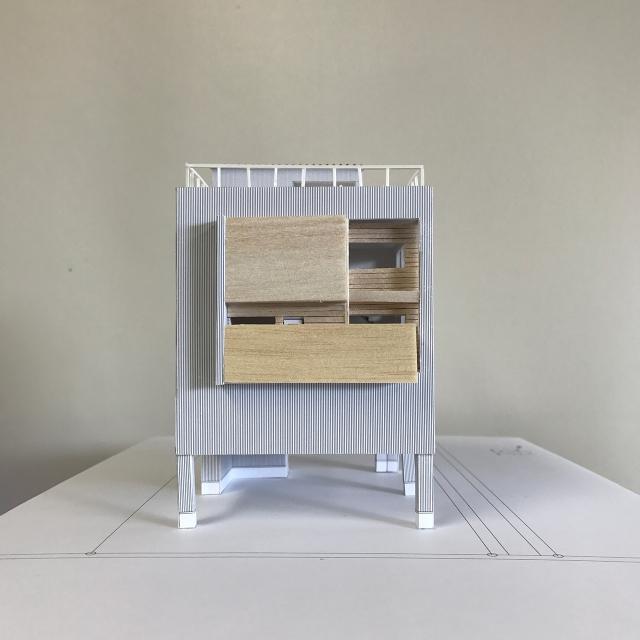 建築模型完成!