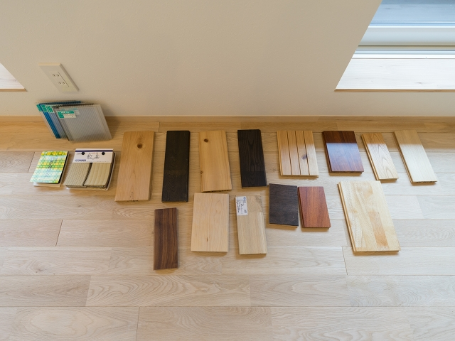 床材選び1