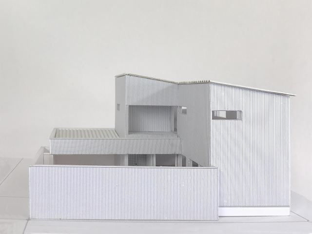 建築模型完成2