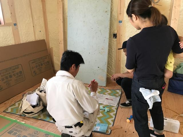 造付け家具の打ち合わせ②!1