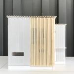 建築模型のルーバー完成1!