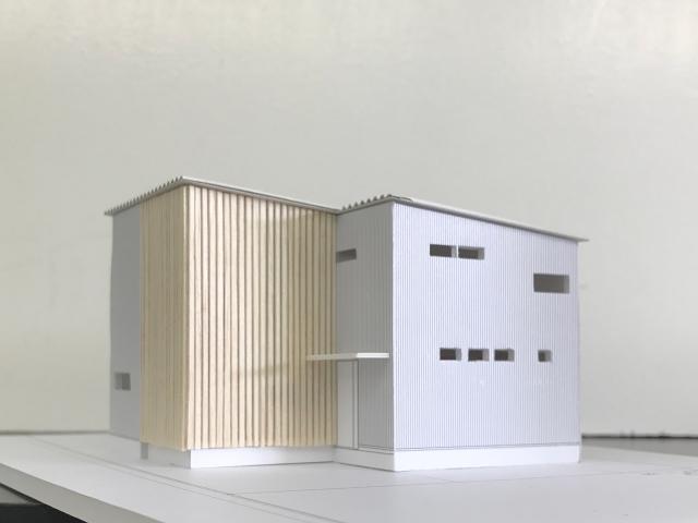 建築模型のルーバー完成3!