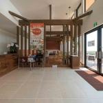 マンゴー販売施設「La goccia」の竣工写真(店内-食事スペース)1