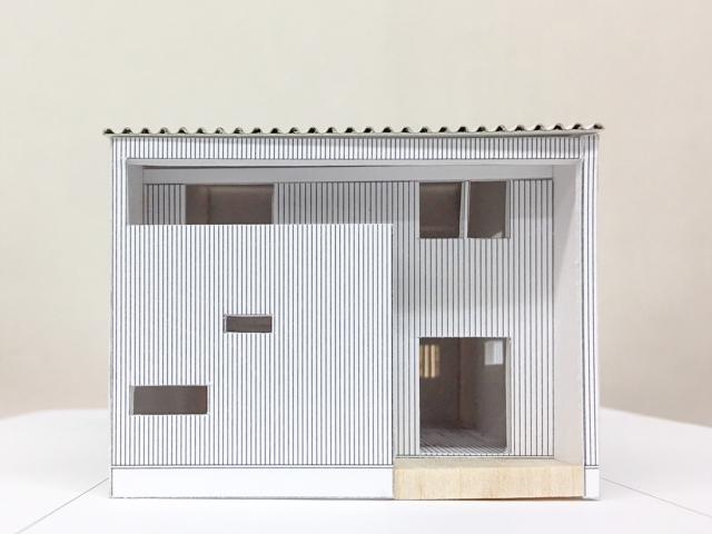 計画中の建築模型!2