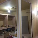 リビングに隣接した和室のアールの柱!1