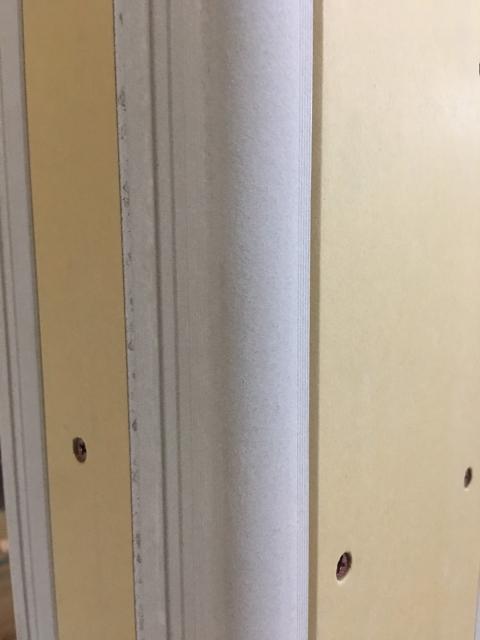 リビングに隣接した和室のアールの柱!2