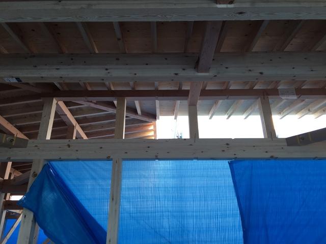屋根垂木!