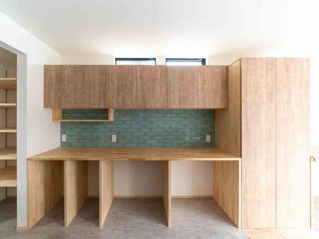 キッチン・パントリー・洗面は回遊性のあるプラン2