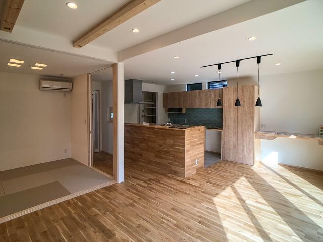 オープンハウス:「家事動線にこだわった家」2