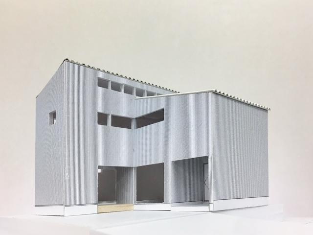 建築模型完成!5