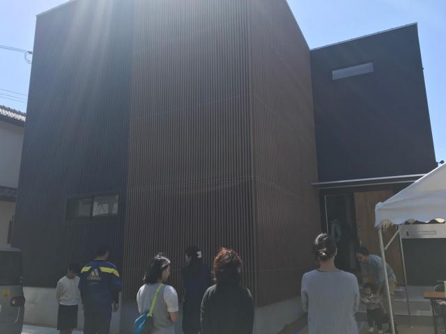 「コンクリートの防音室のある家」オープンハウス1