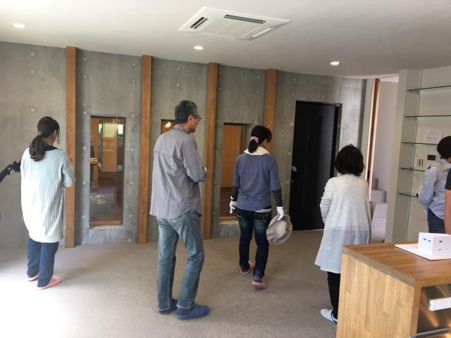 「コンクリートの防音室のある家」オープンハウス4
