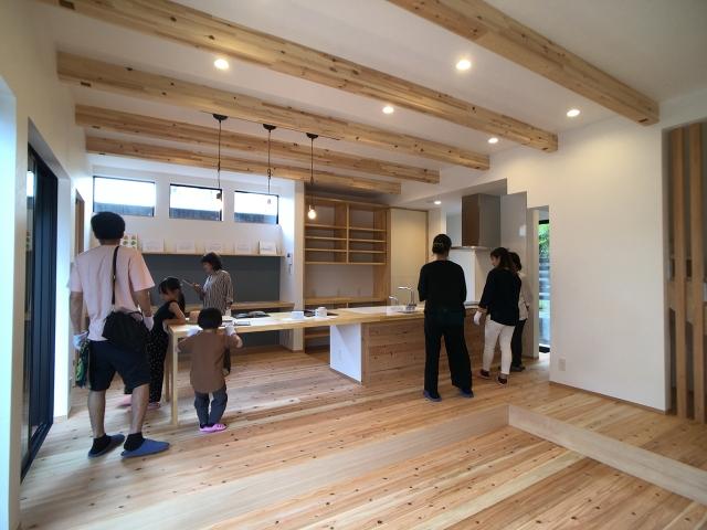「一体型キッチンを楽しむ家」オープンハウス2
