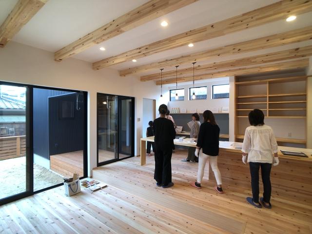 「一体型キッチンを楽しむ家」オープンハウス3