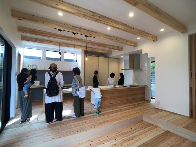 「一体型キッチンを楽しむ家」オープンハウス4