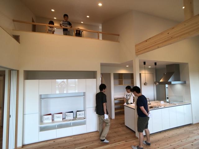 「高台3に建つ家」オープンハウス