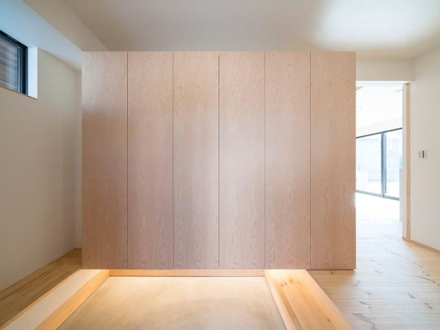 造り付け玄関収納シューズボックス1