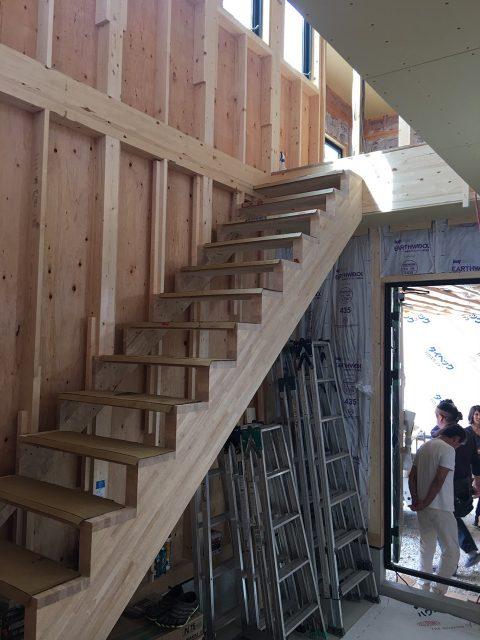 階段製作中!1