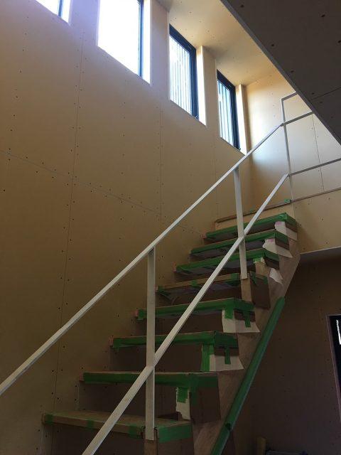 階段手すり!