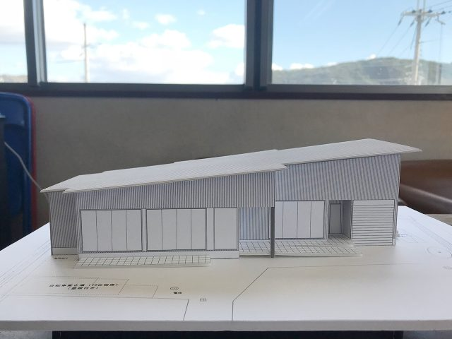 イメージ建築模型完成!1