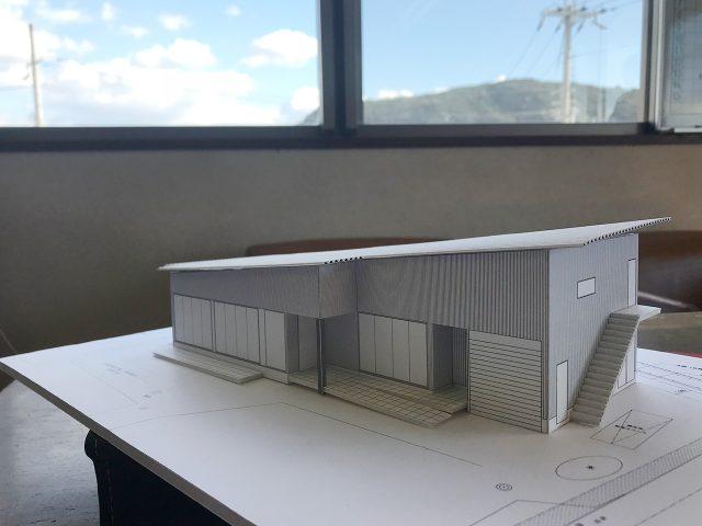 イメージ建築模型完成!2