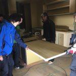 造り付けダイニングテーブル1
